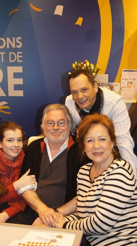 au salon du livre de Paris mars 2015