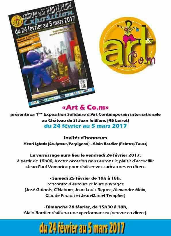 affiche art & co.m